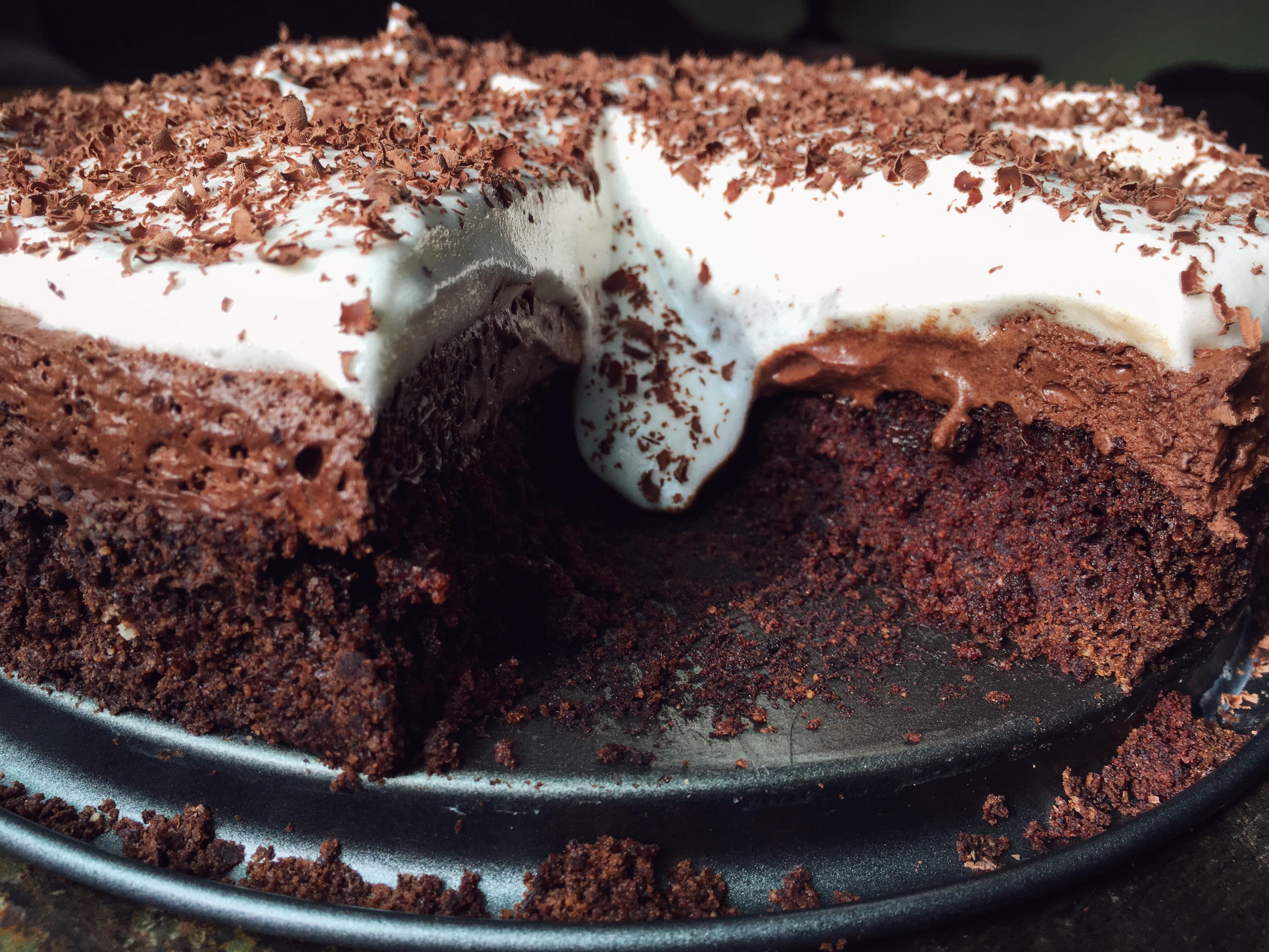 Chocolate Mousse Cake V Gf Bunny S Bite