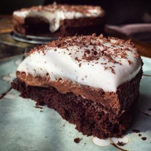 Chocolate Mousse Cake VGF Bunnys Bite