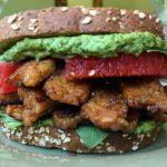 Tempeh, Basil and Watermelon Sandwich (V/GF)