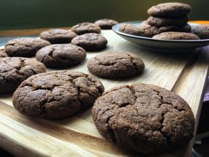 Ginger Molasses Cookies W Pear Butter V Gf Bunny S Bite